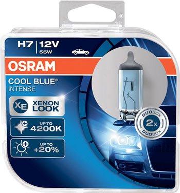 LED-Auto---OSRAM-COOL-BLUE-INTENSE-H7,-proiettori-alogeni-per-auto,-64210CBI-HCB,-12V