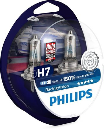 LED Auto - Philips-Racing-Vision-H7