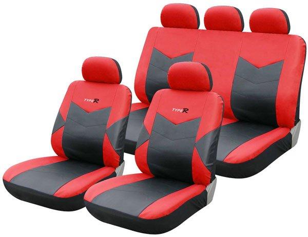 UNIVERSALE Coprisedili Auto Per MAZDA 6 1+1 Sedili Anteriori Nero coprisedili seggiolino auto