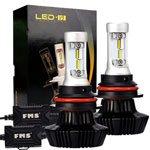 LED Auto-FMS-HB1-9004-LED-Lampadine-del-Faro-Kit-8000LM-80w-6500K